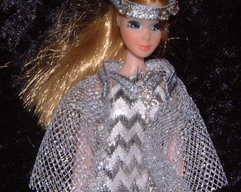 Charisma OOAK Topper Dawn  doll outfit handsewn