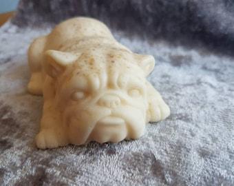 Handmade English Bulldog Soap