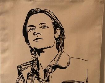 Supernatural Sam Winchester Tote