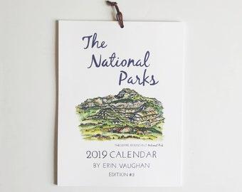 2019- Edition #3 National Park Calendar