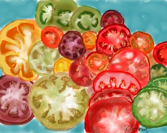 Summer tomatoes!
