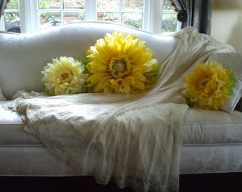 Set of 3 Giant Paper Flowers  - Perfect Decorations for Wedding,Birthday Party&Baby Shower