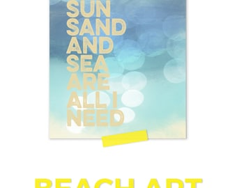 Nautical Nursery, Beach Art Print, Ocean Print, Nautical Nursery Boy, Gender Neutral Nursery, Ocean Wall Decor, Beach Baby Nursery