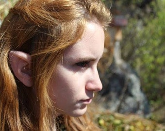 Elf Archer Latex Ears - Elf Link Elven Cosplay LARP