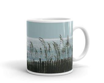 Beach Sea Oats Ceramic Coffee Mug