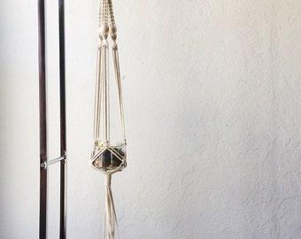 Macrame Hanging Planter | Handmade Macrame Planter | Air Plant Hanger | Succulent Planter | Macrame Plant Hanger | Free Shipping