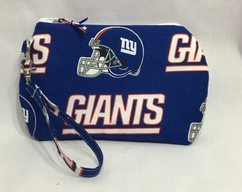 NY Giants ~ Kendall Wristlet Free Shipping in the US