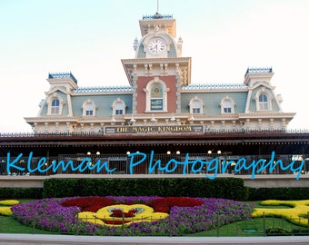 Disney World Magic Kingdom Entrance Magnet #2-READY TO SHIP