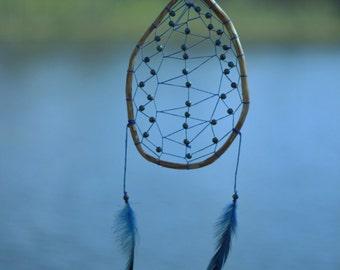 """Cosmic dream catcher Eternal talisman Blue dreamcatcher """"Blue Nebula"""""""