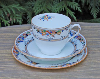 Vintage Teacup Trio perfect for your Afternoon Tea, a Garden Party, Vintage Tea Party or any time you simply fancy a cup of tea!