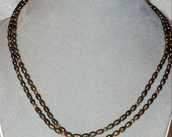 GREEN DRAGON Freshwater PEARLS - with Gold