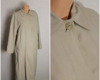 Classic Trench Coat,Trench Coat Women.Beige Jacket Coat Women,Medium Size