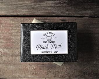 Dead Sea Soap BLACK MUD dead sea mud... Black Kettle, All Natural Soap