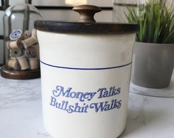 Vintage Storage Jar | Utensil holder