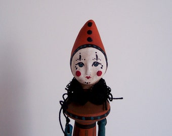 Tia: Vintage Circus Art Doll by JDConwell