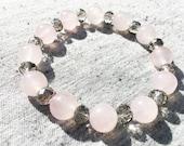Rose Quartz Bracelet, Str...