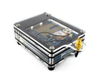 Zebra Adafruit GPS HAT Case for Raspberry Pi3B+, Pi 3, B+, or Pi 2