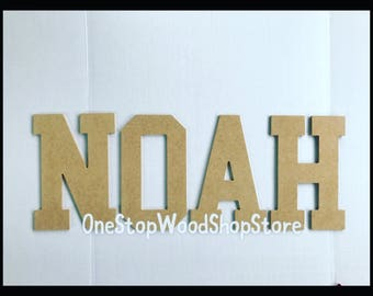 11in Unfinished Wooden Letters, nursery letter, wholesale, wholesale letters, diy, wooden letters