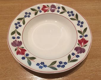 """Adams """"Old Colonial"""" Ironstone 20 cm Bowl Breakfast/Cereal/Fruit/Soup"""
