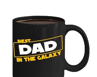 Best Dad in the Galaxy - Star Wars Mug - Star Wars Day - Gift for Dad - Lightsabers Mug - Father's Day Mug - Mug for Dad