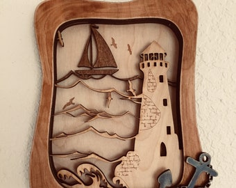 Lighthouse 3D wall art mini collection