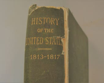 History of the United States of America Vol III 1891