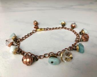 Dainty and Delicate Bracelet Gemstone Bracelet Dancing Stones