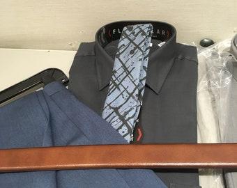 Abstract Blue Necktie