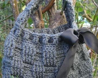 Crochet Pattern for Basket Stitch Bag - PDF Instant Download