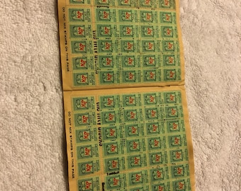 S&H Green Stamps Quick Saver Book