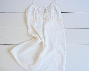 Natural Linen Nightdress Linen Nightgown Linen Slip Dress Linen Sleepwear Sustainable Clothing Organic Linen Nightgown European Flax