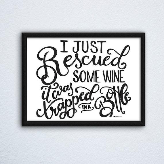 Wine Print | Printable Wall Art Print | Printable Art | Digital Download | Poster | Digital Print | Funny Wine Decor | Home Decor