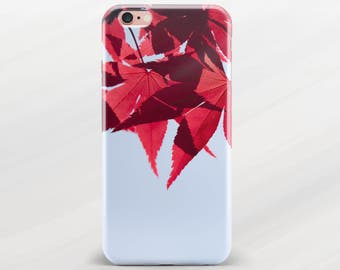 Phone Case Leaf iPhone Case Nature iPhone 6 Plus Case Leaves iPhone 5s Case iPhone SE Case Cell Phone Case iPhone 6s Plus Case for Galaxy S5