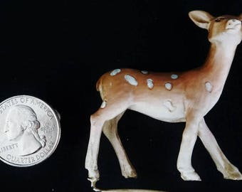 Deer – Fawn Standing: miniature garden, fairy garden, fairy garden accessories, fairy, miniature, miniature furniture