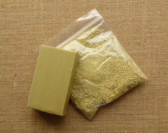Choose from pure olive oil soap - pure olive oil soap flakes  or both - wet felting soap - wet felting olive oil flakes