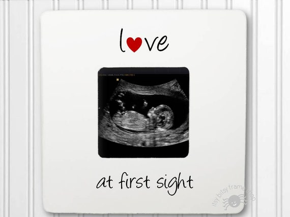 Ultrasound Gift Sonogram gift Gender Reveal New Baby Frame