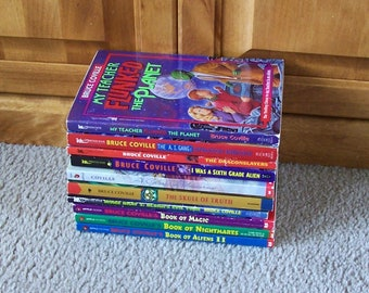 Bruce Coville Children's Books - You Choose Which Ones