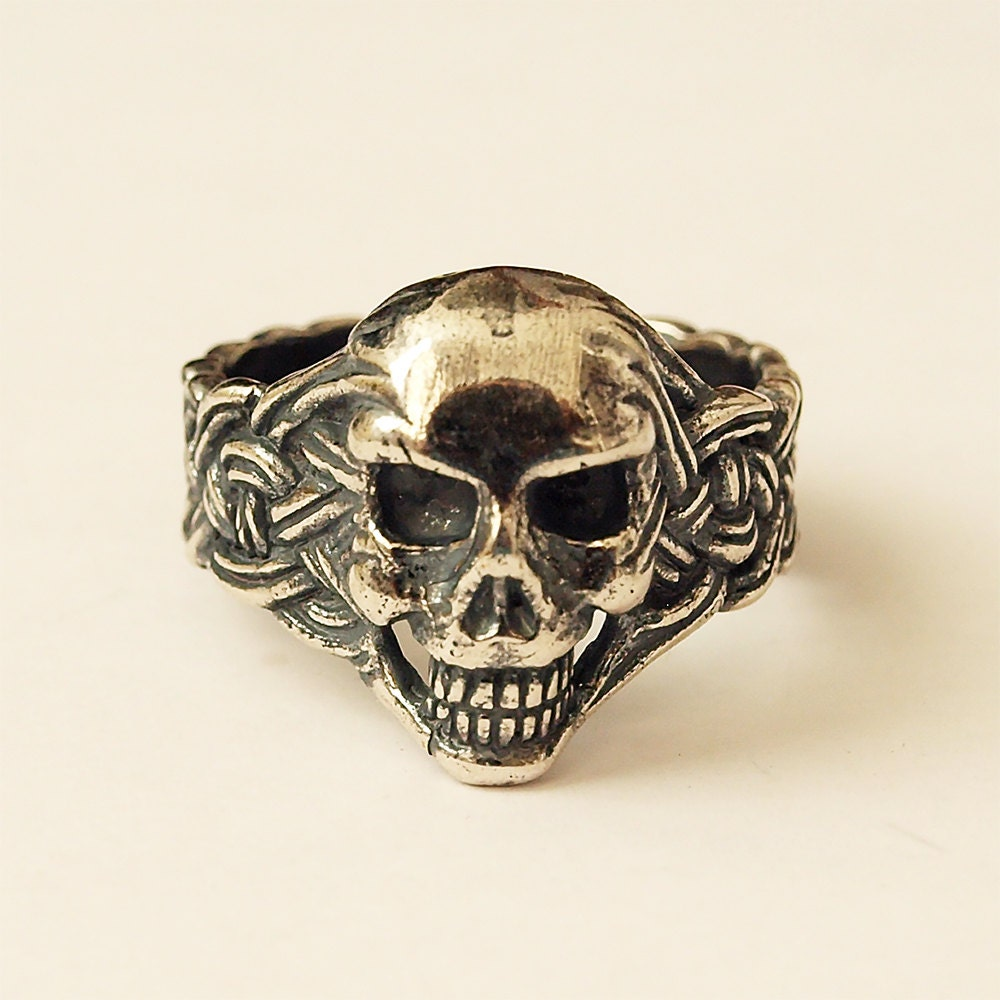 Skull ring Skull jewelry Skull Men skull ring Skull rings