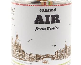 Original Canned Air From Venice, gag souvenir, gift, memorabilia