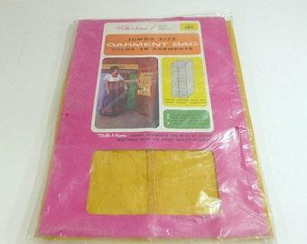 Vintage Belle Maison Jumbo Size Garment Bag Closet Organizer Clothing Bag Retro Garment Bag Beacon Enterprise Vintage Vinyl Zippered Bag