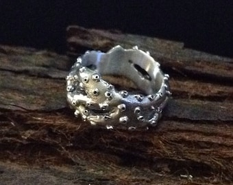 Octopus Tendical Ring Sterling Silver