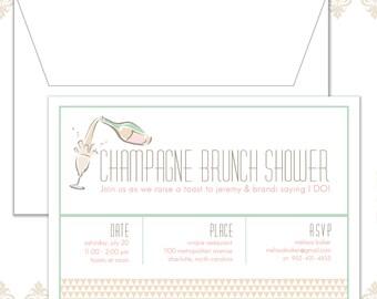 Champagne Brunch Invite