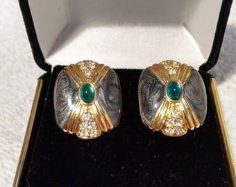 KJL Duchess of Windsor Earrings - S 2125