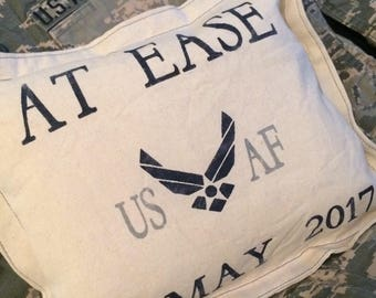 Military Retirement Pillow