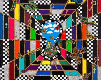 Keys to Paradise. Fine Art by Genyfer Spark