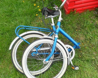 22917 -- Will Ship 2 U.S.A ---  Scarce Vintage Norco BIKE Norco Compact Fold up Bike ALL ORIGINAL Pocket Bike Made in Italy