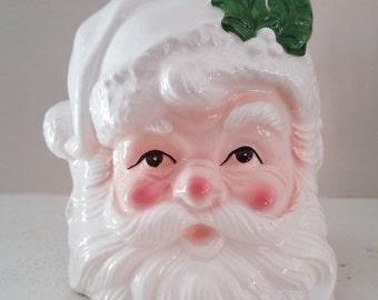 Vintage Inarco Japan Santa Claus Planter