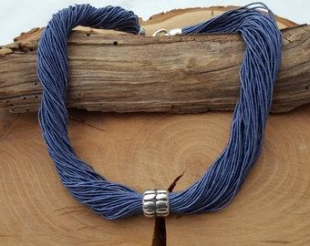 Necklace Dove Blue