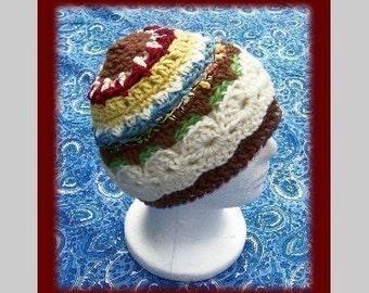 FUN Stitch Winter HAT Crochet Pattern
