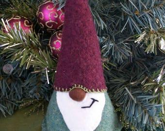 Winter Wool Gnome